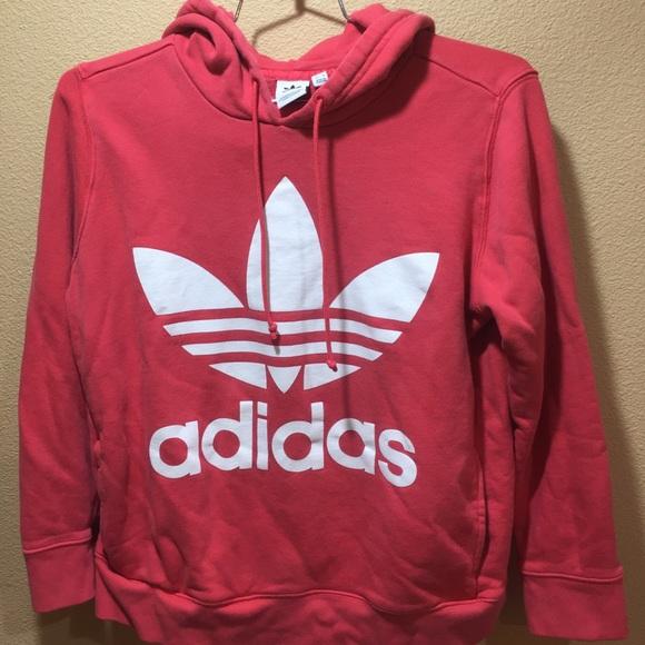 Adidas women's hooded sweatshirt size L